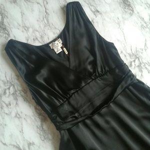 NWT Max Studio Silk Little Black Dress